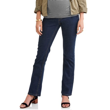 - Full Panel 5 Pocket Bootcut Maternity Jeans