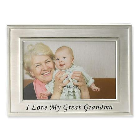IceCarats I Love My Great Grandma 6x4 Photo Frame Religious Baptism ...