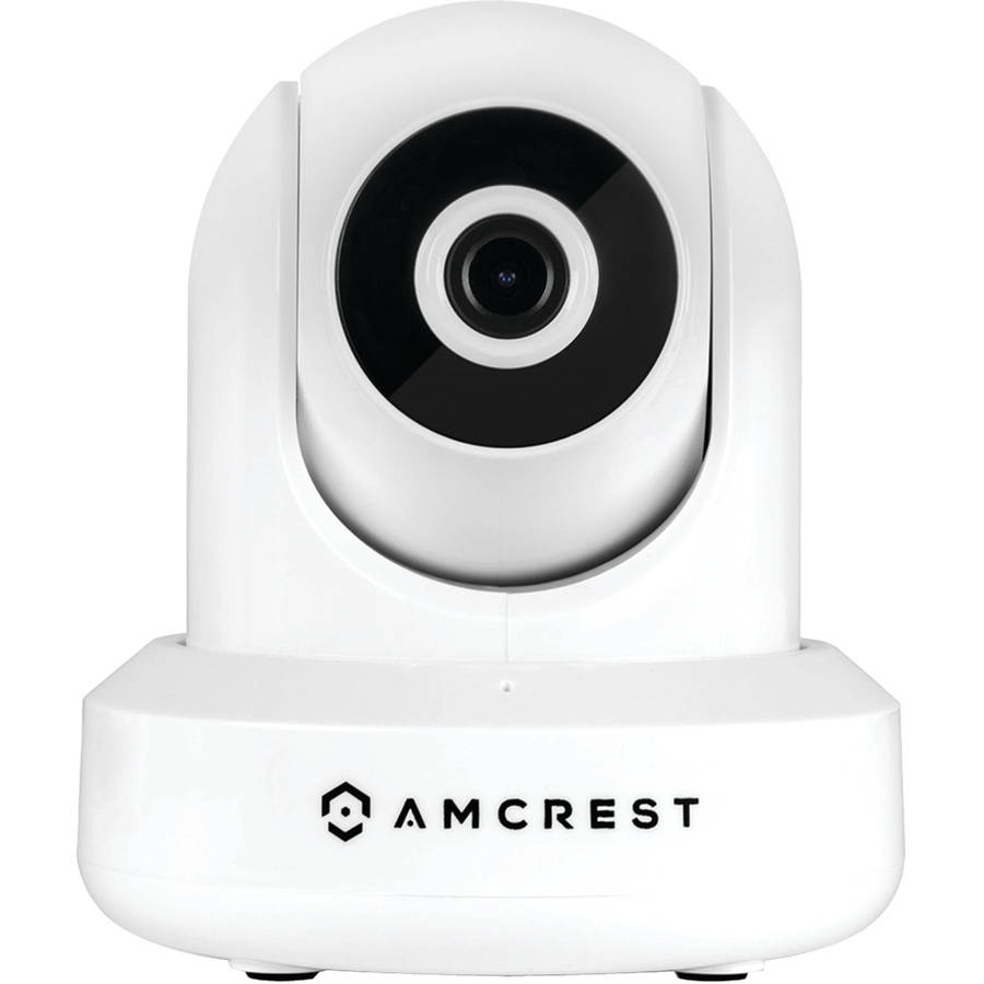 Amcrest IP2M-841W 1080p WiFi IP Pan/tilt 2-Way Camera with Cloud Recording, White