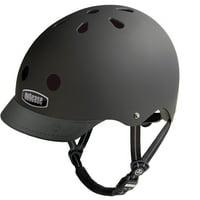 Nutcase Blackish Solid Bike Helmet