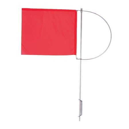 Indicator Flags - Five Oceans Wind Indicator Flag, 130mmx110mm Red . FO-2318