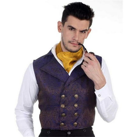The Pirate Dressing C1340 Aristocrat Vest, 3XL - Pirate Vest For Kids