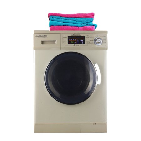 Equator 1.6 cu.ft. Compact Combination Washer Dryer with Vented/Ventless Drying with Quiet feature and Easy to Use Control Panel 2019 Model in (Best Unitized Washer Dryer 2019)