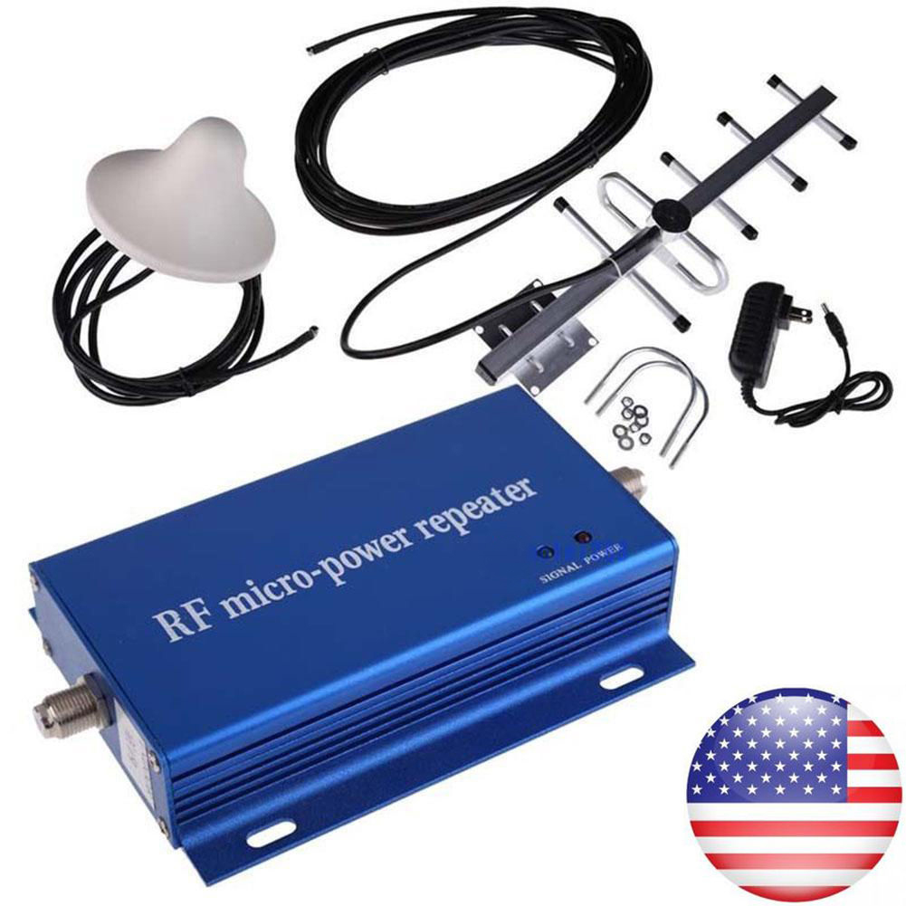 iMeshbean CDMA 850MHz Cell Phone Signal Repeater Booster Amplifier +Yagi Antenna Kit