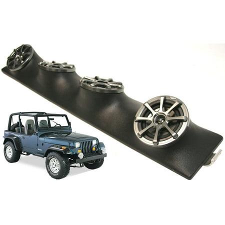 Jeep Wrangler Kicker Powered Ks525 Car Stereo Speakers Loaded Sound Bar (Best Speakers For Jeep Wrangler Sound Bar)