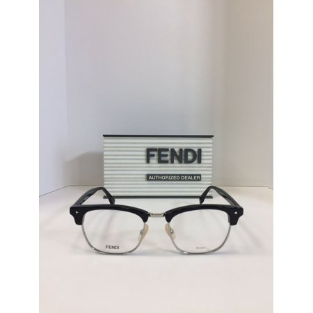 Fendi FF M0006 086 Havana Plastic Eyeglasses 50mm (Fendi Eyeglasses Men)