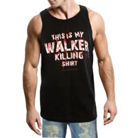 The Walking Dead Walker Killer Mens Black Tank Top Shirt | S