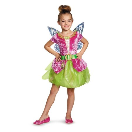 Disguise Disney's The Pirate Fairy Pirate Tinkerbell Classic Girls Costume, S...