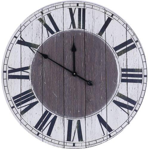 Longshore Tides Oversized Davis MDF 29.5'' Wall Clock
