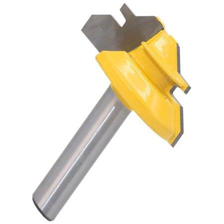 Okraydirect 8mm 45 Degree Shank Lock Miter Router Bit Tungsten