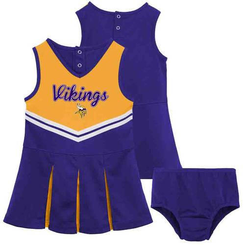 NFL Minnesota Vikings Toddler Cheerleader Set