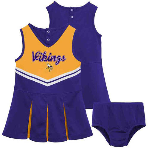 NFL Minnesota Vikings Toddler Cheerleader Set