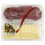 Daniele Daniele On-the-Go Genoa Salame & Provolone Cheese, 3 oz