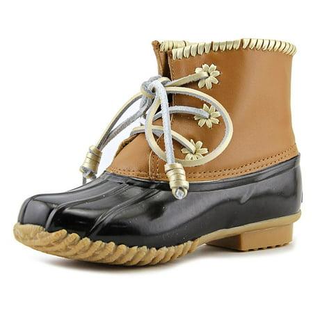 - Jack Rogers Chloe Classic   Round Toe Leather  Rain Boot