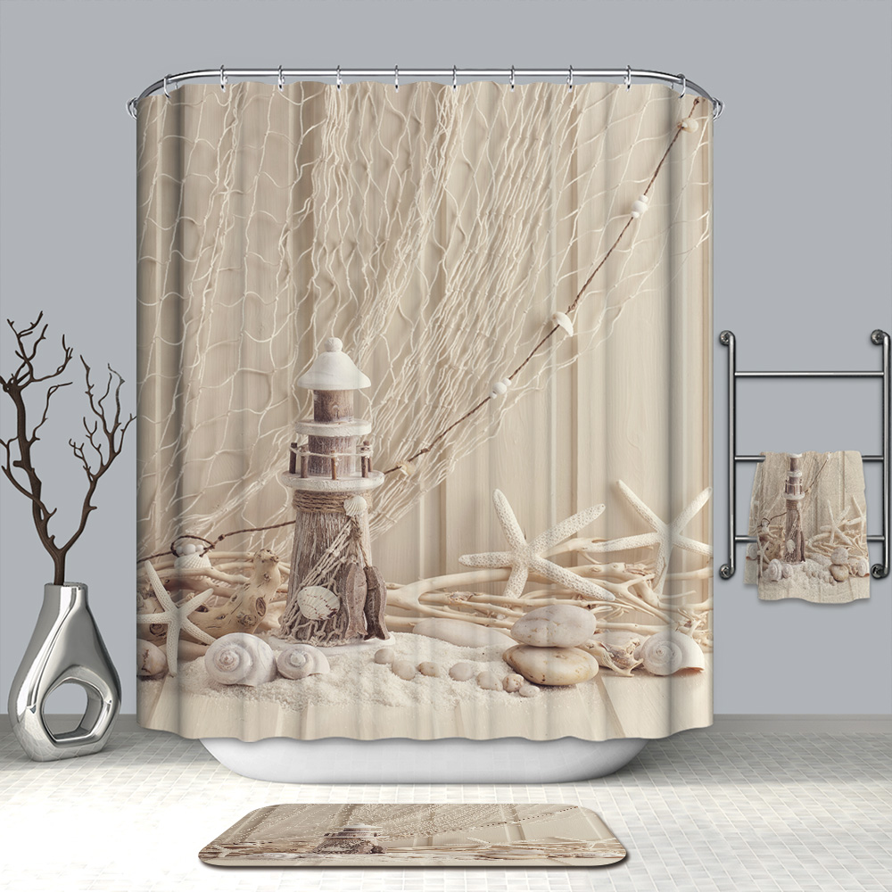 Cow Shower Curtain Farmhouse Chic Faux Wood : by