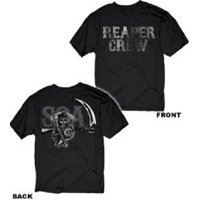 Sons of Anarchy Reaper Crew Layered Icons Adult T-Shirt