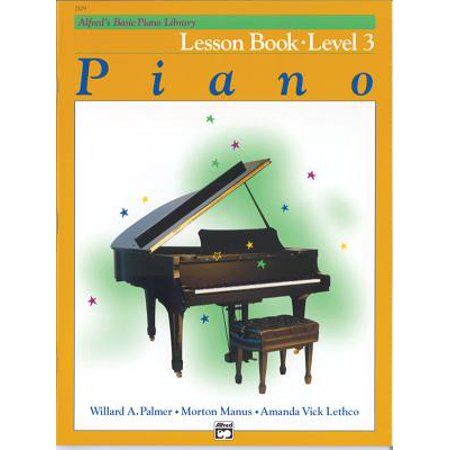 Alfred's Basic Piano Library Lesson Book, Bk (Three Piano Pieces)
