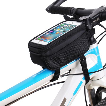Cycling Bike Frame Pannier Front Tube Bag Cell Phone Bicycle Touch Screen - Fuelbelt Bike Bag