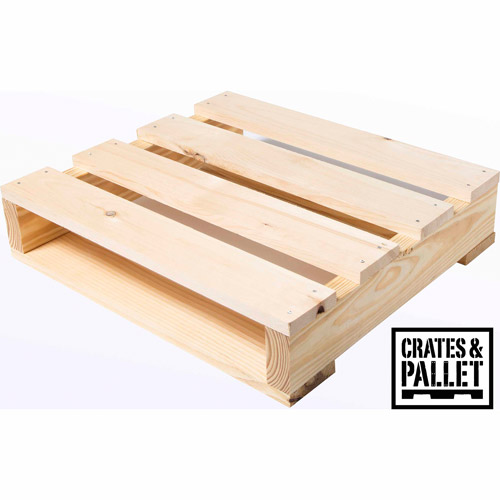 Crates and Pallet Quarter Pallet, New Wood