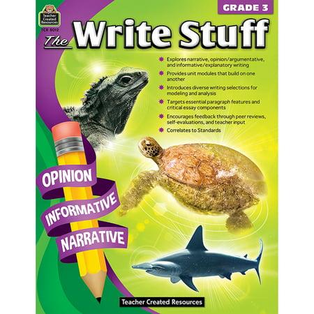 THE WRITE STUFF GR 3 - Teacher Stuff