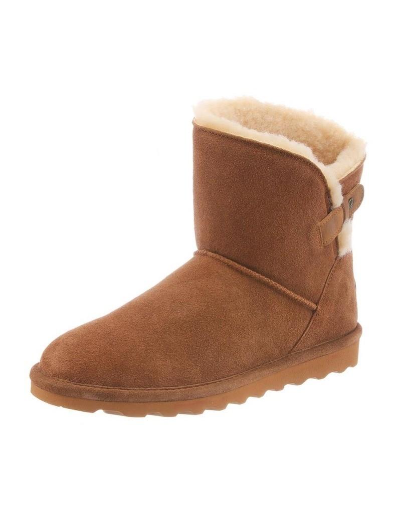 Bearpaw Boots Womens Margaery Slim Tread Topline Faux Leather 1903W by Bearpaw