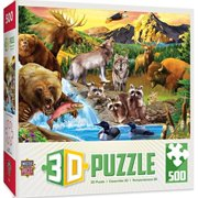 MasterPieces Lenticular Call of the Wild Jigsaw Puzzle, Art by Howard Robinson, 500-Piece
