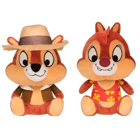 Funko Plushies - Disney Afternoon Cartoon - SET OF 2 (Chip & Dale)