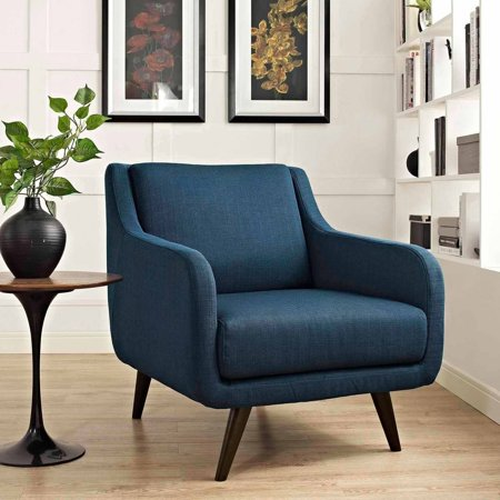 Modway Verve Upholstered Removable Cushion Armchair, Multiple Colors