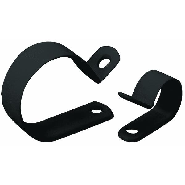 Gardner Bender PPC-1575UVB Cable Clamps, Black Plastic, 3/4-In. I.D., 6-Pk.