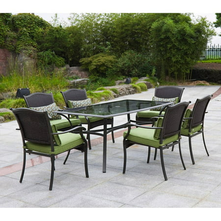 Better homes and gardens providence 7 piece outdoor dining set green box 2 of 2 7 better homes and gardens