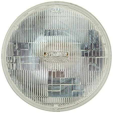 300w Sealed Beam (SYLVANIA H6024 SilverStar High Performance Halogen Sealed Beam Headlight (7
