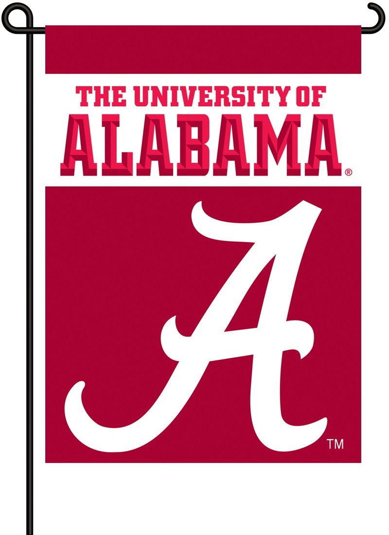 University Of Alabama Crimson Tide Garden Flag