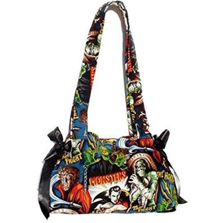 hemet horror movie hollywood monsters purse - Monster Handbag
