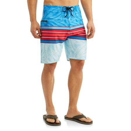 Men's Banyan Stripe Stretch 9 Inch Boardshort