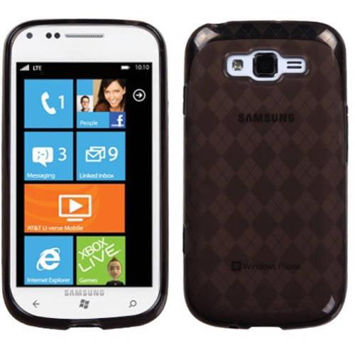 Samsung I667 Focus 2 MyBat Candy Skin Cover, Smoke Argyle