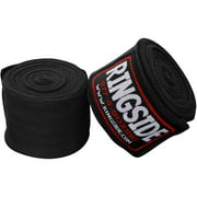 """Ringside Mexican-Style Boxing Handwraps - 180"""" - 5 Pack Black"""