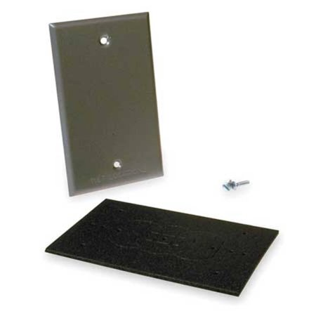 Bell 5173-0 alum 1g outlet box cover