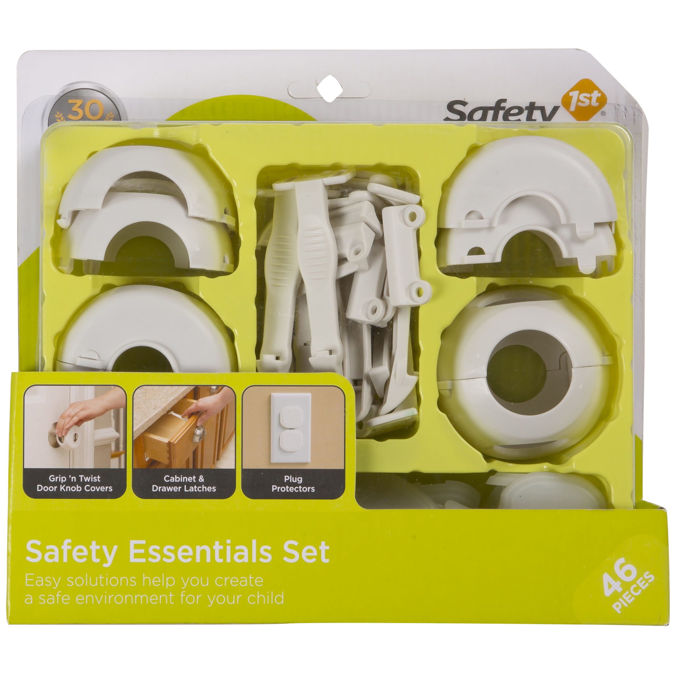 Safety 1ˢᵗ Safety Essentials Kit (46 Pcs), White