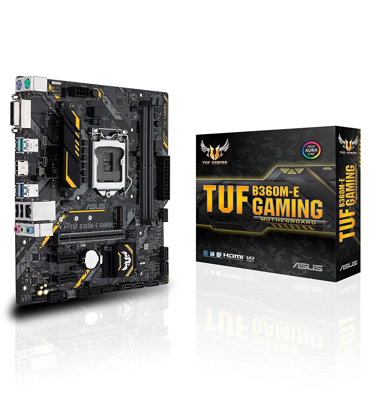 Asus Tuf B360M-E Gaming Motherboard - TUF B360M-E GAMING