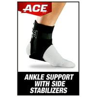 ACE Brand Adjustable Ankle Brace w/ Side Stabilizers