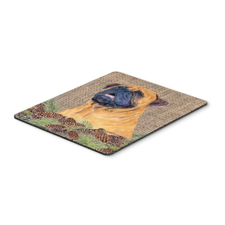 Bullmastiff Mouse Pad, Hot Pad or Trivet