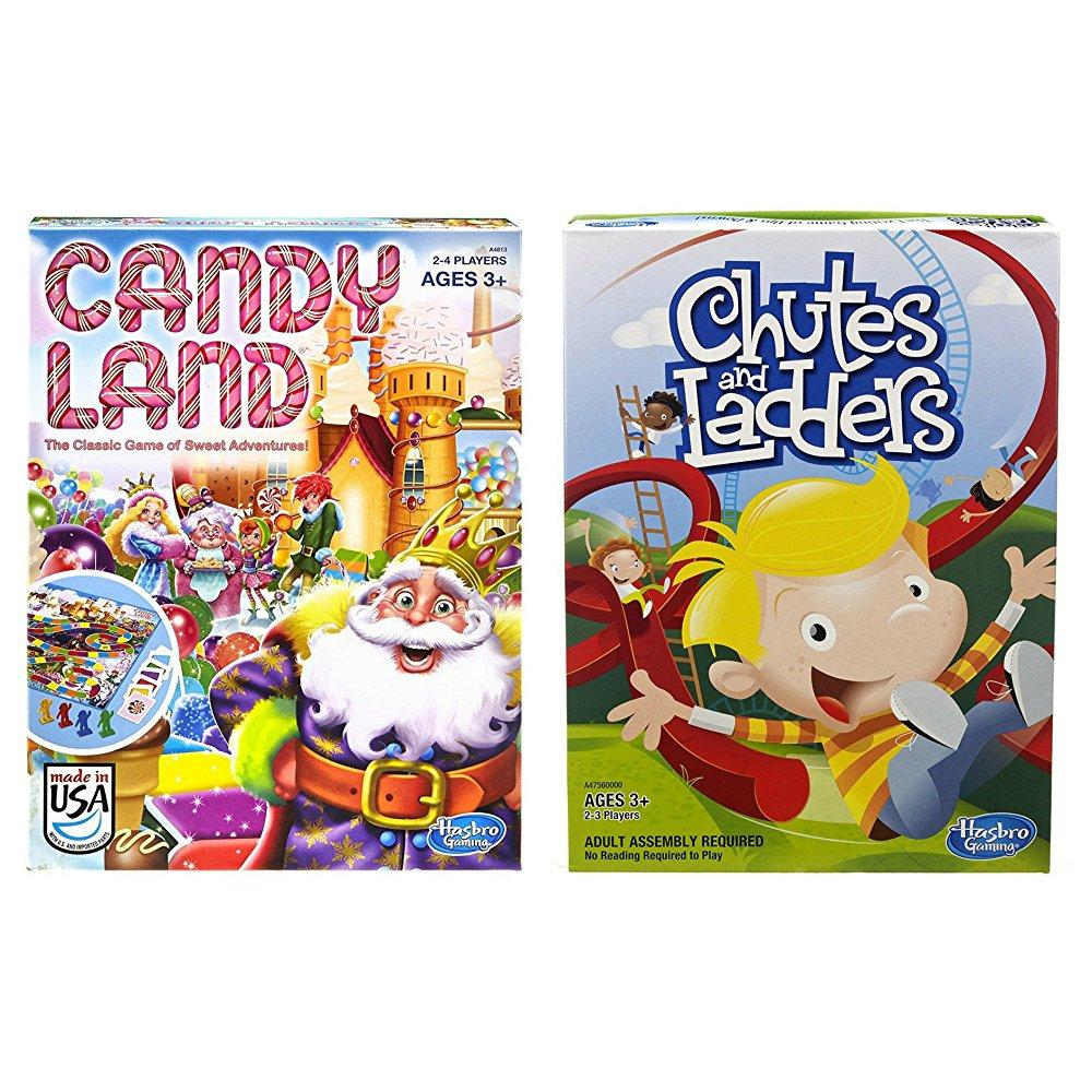 Candyland and Chutes and Ladders Board Games