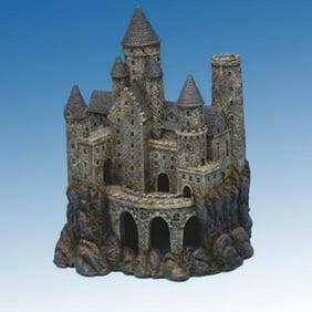 aquarium landscaping fish tank decoration castle brown castle walmartcom