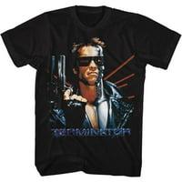 Terminator LASER BACK Medium Cotton T-shirt Black Adult Men's Unisex Short Sleeve T-shirt