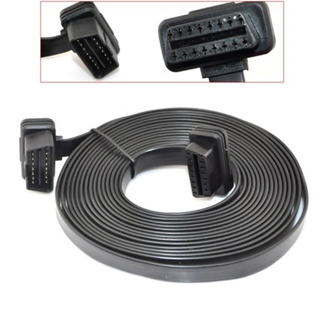 IKKEGOL 40057 16 Pin Ultra Flat Low Profile Male to Female Extension Cable