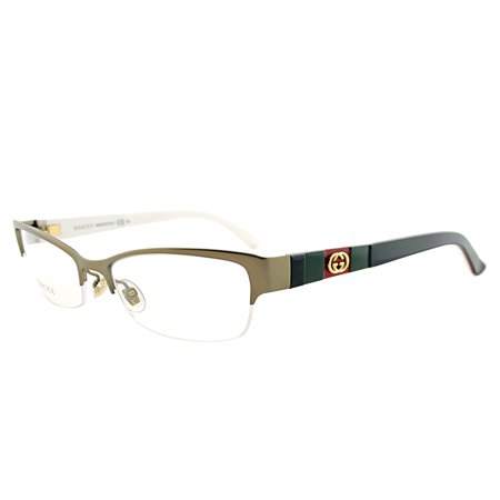 77423acb3c2 Gucci GG4213 5L3 17 Women s Semi-Rimless Eyeglasses - Walmart.com