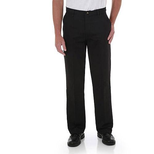 Wrangler Men's Advanced Comfort Flat Front Pants