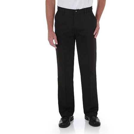 897912f8 Wrangler - Wrangler Men's Advanced Comfort Flat Front Pants - Walmart.com