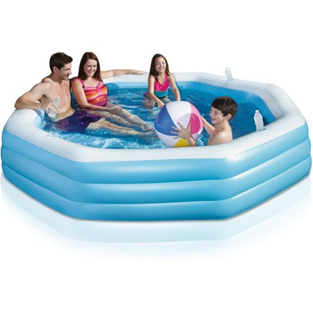 Play day octagonal family swimming pool Where can i buy a swimming pool near me