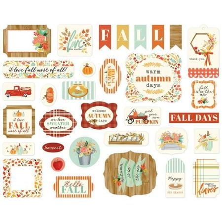 Fall Market Icons Ephemera - Carta Bella ()